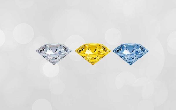 Diamantes feitos com cinzas