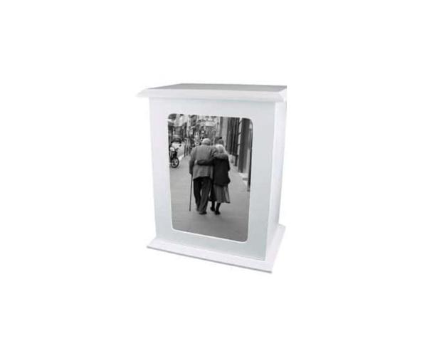 Urna Porta retrato vertical